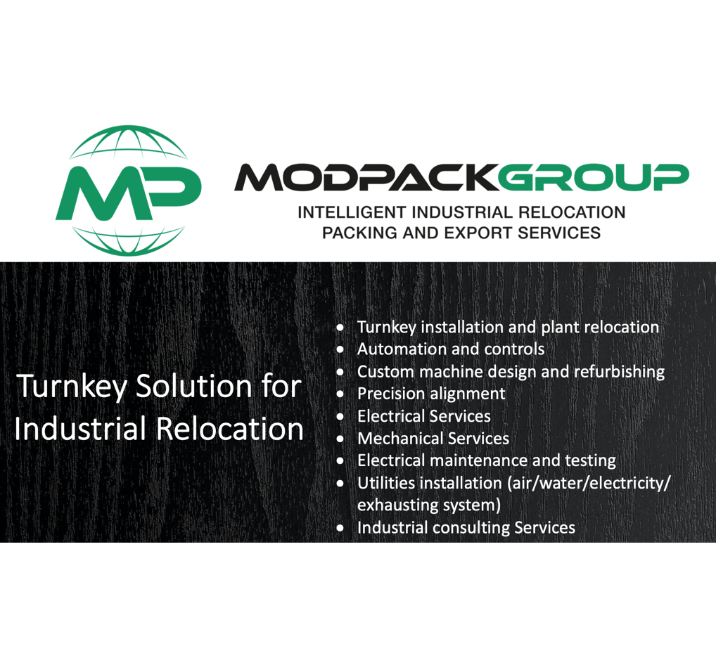 Modpack Group Intelligent Industrial Relocation Packaging and Export
